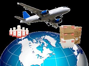 Biopromind Shipping Service Logo