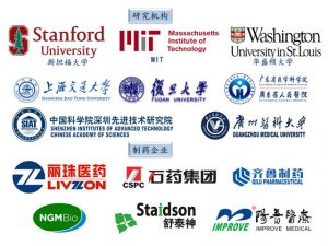 Biopromind Customers in Research and Pharma in Chinese