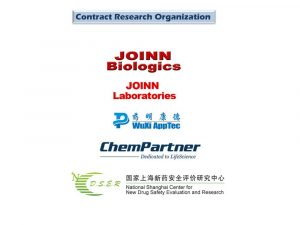 Biopromoind CRO and CMO Customers